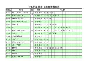 H31.1期 申込確認表のサムネイル